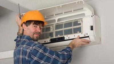 طریقه باز کردن پنل داخلی کولر گازی