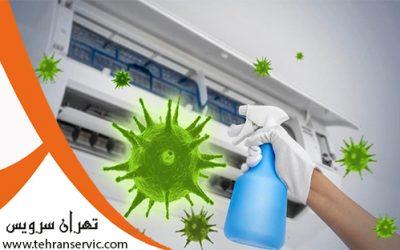 رد انتقال ویروس کرونا از کولر گازی